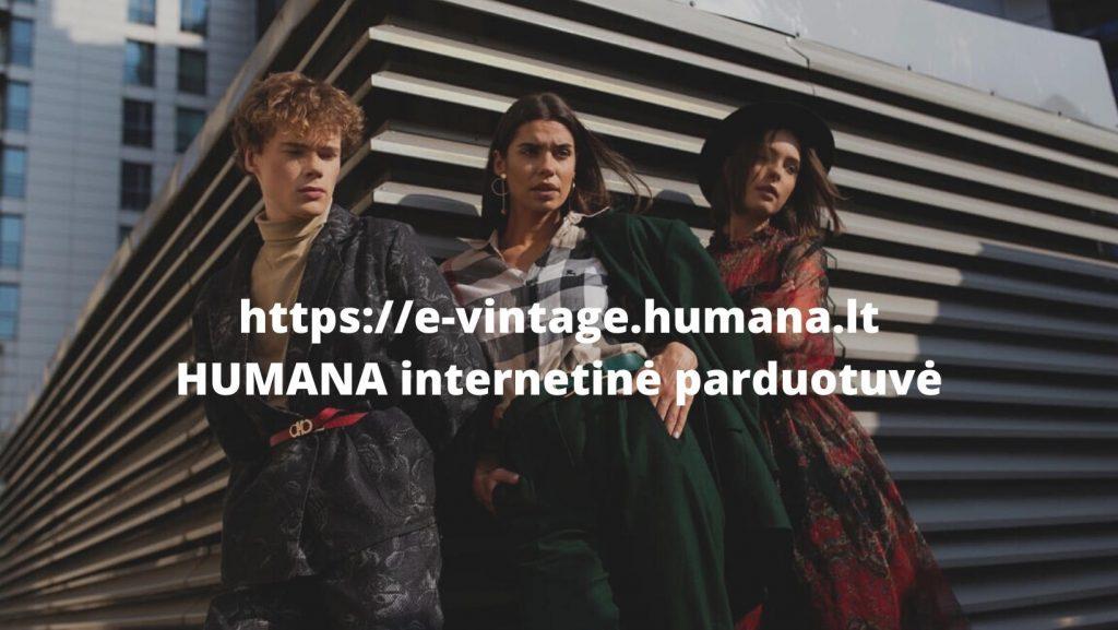HUMANA INTERNETINĖ PARDUOTUVĖ